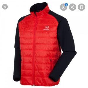 Rossignol Mens Red Black Clim Light Loft Jacket XL